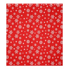 Xmas Pattern Shower Curtain 66  X 72  (large)  by Valentinaart