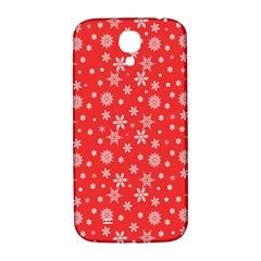 Xmas Pattern Samsung Galaxy S4 I9500/i9505  Hardshell Back Case by Valentinaart