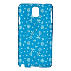 Xmas Pattern Samsung Galaxy Note 3 N9005 Hardshell Case by Valentinaart