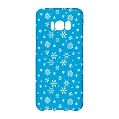 Xmas Pattern Samsung Galaxy S8 Hardshell Case  by Valentinaart