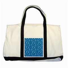Xmas Pattern Two Tone Tote Bag by Valentinaart
