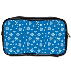 Xmas Pattern Toiletries Bags by Valentinaart