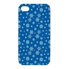 Xmas Pattern Apple Iphone 4/4s Premium Hardshell Case by Valentinaart
