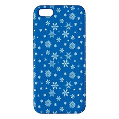 Xmas Pattern Iphone 5s/ Se Premium Hardshell Case by Valentinaart