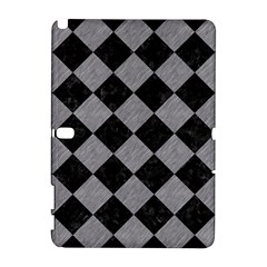 Square2 Black Marble & Gray Colored Pencil Galaxy Note 1 by trendistuff