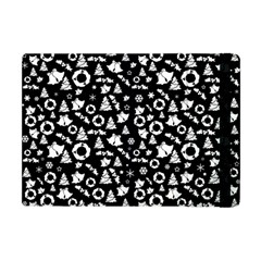 Xmas Pattern Apple Ipad Mini Flip Case by Valentinaart