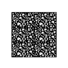 Xmas Pattern Satin Bandana Scarf by Valentinaart