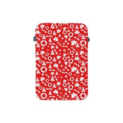Xmas Pattern Apple Ipad Mini Protective Soft Cases by Valentinaart