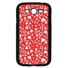 Xmas Pattern Samsung Galaxy Grand Duos I9082 Case (black) by Valentinaart