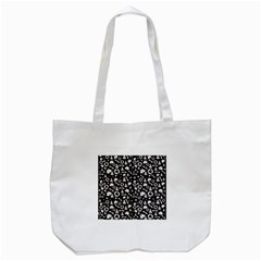Xmas Pattern Tote Bag (white) by Valentinaart
