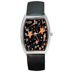 Guitar Star Rain Barrel Style Metal Watch by SpaceyQT