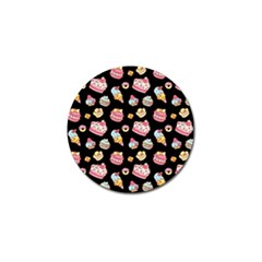 Sweet Pattern Golf Ball Marker (10 Pack) by Valentinaart