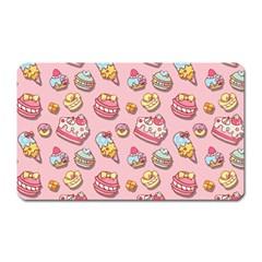 Sweet Pattern Magnet (rectangular) by Valentinaart