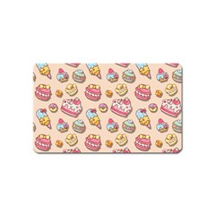 Sweet Pattern Magnet (name Card) by Valentinaart