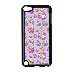 Sweet Pattern Apple Ipod Touch 5 Case (black) by Valentinaart