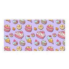 Sweet Pattern Satin Wrap by Valentinaart