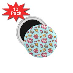 Sweet Pattern 1 75  Magnets (10 Pack)  by Valentinaart