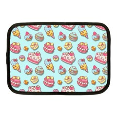 Sweet Pattern Netbook Case (medium)  by Valentinaart