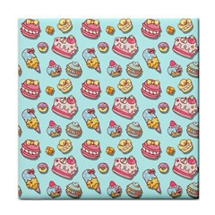 Sweet Pattern Face Towel by Valentinaart