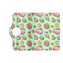 Sweet Pattern Kindle Fire Hd (2013) Flip 360 Case by Valentinaart
