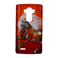 Steampunk, Wonderful Wild Steampunk Horse Lg G4 Hardshell Case by FantasyWorld7