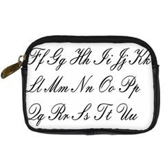 Alphabet Embassy Font Digital Camera Cases by Mariart