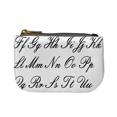 Alphabet Embassy Font Mini Coin Purses by Mariart