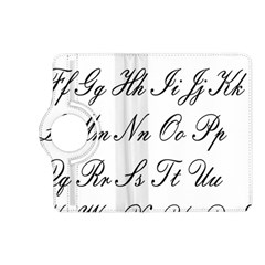 Alphabet Embassy Font Kindle Fire Hd (2013) Flip 360 Case by Mariart