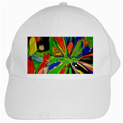 Acrobat Wormhole Transmitter Monument Socialist Reality Rainbow White Cap by Mariart