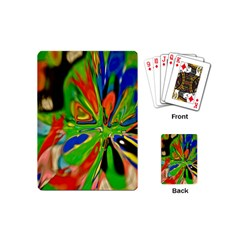 Acrobat Wormhole Transmitter Monument Socialist Reality Rainbow Playing Cards (mini)  by Mariart