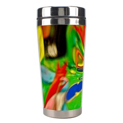 Acrobat Wormhole Transmitter Monument Socialist Reality Rainbow Stainless Steel Travel Tumblers by Mariart