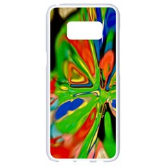 Acrobat Wormhole Transmitter Monument Socialist Reality Rainbow Samsung Galaxy S8 White Seamless Case