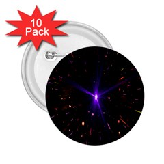 Animation Plasma Ball Going Hot Explode Bigbang Supernova Stars Shining Light Space Universe Zooming 2 25  Buttons (10 Pack)  by Mariart