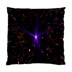 Animation Plasma Ball Going Hot Explode Bigbang Supernova Stars Shining Light Space Universe Zooming Standard Cushion Case (one Side) by Mariart