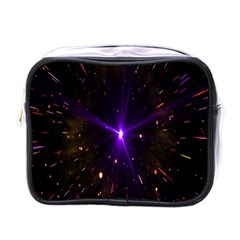 Animation Plasma Ball Going Hot Explode Bigbang Supernova Stars Shining Light Space Universe Zooming Mini Toiletries Bags by Mariart