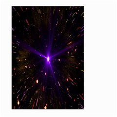 Animation Plasma Ball Going Hot Explode Bigbang Supernova Stars Shining Light Space Universe Zooming Large Garden Flag (two Sides) by Mariart