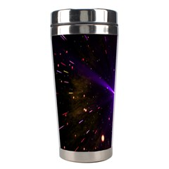 Animation Plasma Ball Going Hot Explode Bigbang Supernova Stars Shining Light Space Universe Zooming Stainless Steel Travel Tumblers by Mariart
