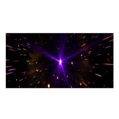 Animation Plasma Ball Going Hot Explode Bigbang Supernova Stars Shining Light Space Universe Zooming Satin Shawl by Mariart