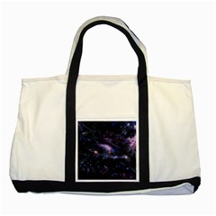 Animation Plasma Ball Going Hot Explode Bigbang Supernova Stars Shining Light Space Universe Zooming Two Tone Tote Bag by Mariart