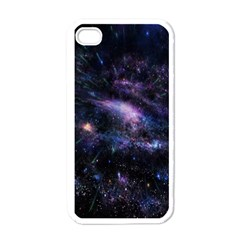 Animation Plasma Ball Going Hot Explode Bigbang Supernova Stars Shining Light Space Universe Zooming Apple Iphone 4 Case (white) by Mariart