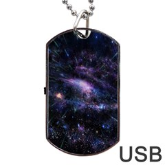 Animation Plasma Ball Going Hot Explode Bigbang Supernova Stars Shining Light Space Universe Zooming Dog Tag Usb Flash (one Side) by Mariart