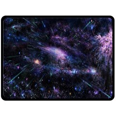 Animation Plasma Ball Going Hot Explode Bigbang Supernova Stars Shining Light Space Universe Zooming Double Sided Fleece Blanket (large)  by Mariart