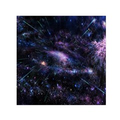 Animation Plasma Ball Going Hot Explode Bigbang Supernova Stars Shining Light Space Universe Zooming Small Satin Scarf (square) by Mariart