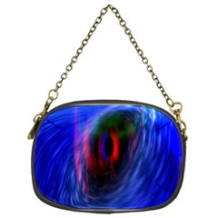Black Hole Blue Space Galaxy Chain Purses (one Side)  by Mariart