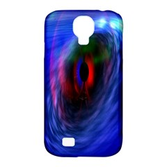 Black Hole Blue Space Galaxy Samsung Galaxy S4 Classic Hardshell Case (pc+silicone) by Mariart