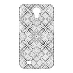 Background Pattern Diagonal Plaid Black Line Samsung Galaxy Mega 6 3  I9200 Hardshell Case by Mariart