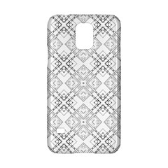 Background Pattern Diagonal Plaid Black Line Samsung Galaxy S5 Hardshell Case  by Mariart
