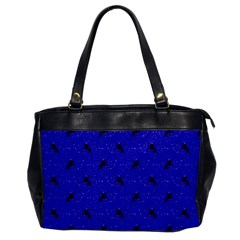 Unicorn Pattern Blue Office Handbags by MoreColorsinLife