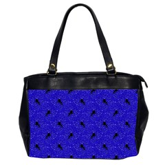 Unicorn Pattern Blue Office Handbags (2 Sides)  by MoreColorsinLife