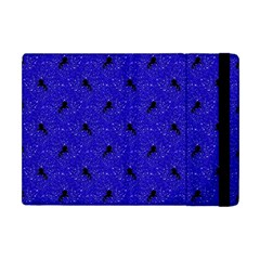 Unicorn Pattern Blue Apple Ipad Mini Flip Case by MoreColorsinLife
